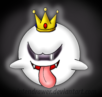 King boo by Nintendrawer