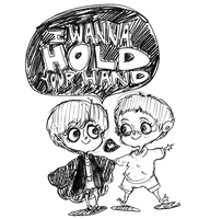 I WANNA HOLD YOUR HAND by rompopita