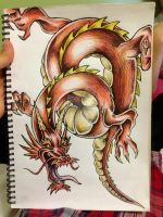 Chinese Dragon by shan1506