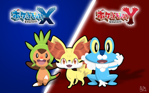 Pokemon X and Y Wallpaper by SuperAj3