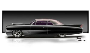 Black Cadillac by blueprint1981