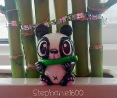 *FOR SALE* Panda sculpture by stephanie1600