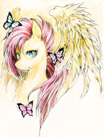 Pony .:Fluttershy:. by WhiteSpiritWolf