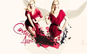 #Candice Accola [Wallpaper#01] by MagnifiqueDiable