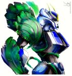 Strongarm the Violet and Cabbage by Aiuke