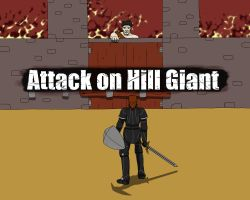 Attack on Hill Giant - Rollplay by Martin-Q