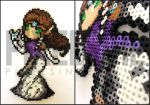 Custom Twilight Princess Zelda Perler Bead Art by pixelsirl