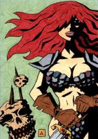 Red Sonja AP 4 by soliton
