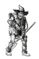Scarecrow Inked by KR-Whalen