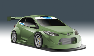 SuperT12 Race Series - Mazda 2 by StylePixelStudios