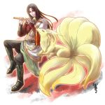 Zhou Yu and Ninetales by GENgoodstick