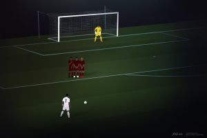 CR7 Freekick by drifter765