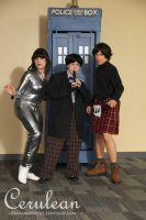 Doctor Who Photoshoot: The Doctor and companions by StrangeStuffStudios