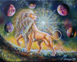 Zodiac sign of Leo by SergeM73
