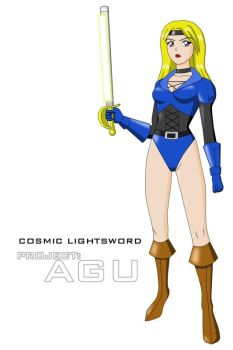Cosmic Lightsword - refined by Dangerman-1973