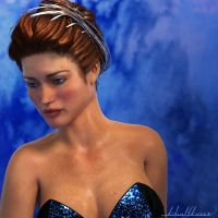 Tiaras for Dawn and V4: Tiara01 Silver by kobaltkween