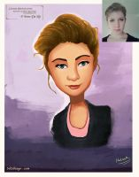 cartoon-Character-portrait-commission series 1 by eydii