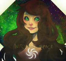 Witch of Space by mangoranger