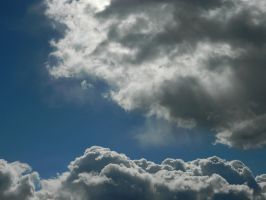Comforted clouds by Matthew-Fuller