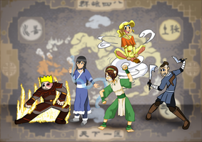 The Avatar Collab by s0s2