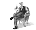 I've drawn too much Edgeworth by Veevee-Girl