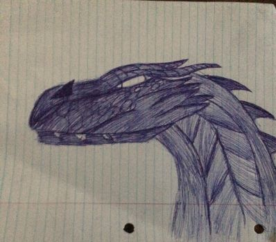 Another pen dragon  by JD2036