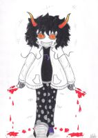 Gamzee The Killer by Ancyd-Watercolour