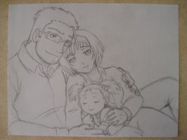 Hughes family by KN-KL