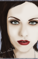 Inspiration - Amy Lee Vector by maneita