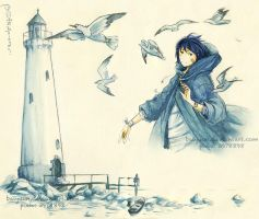 Lighthouse by YumeFukurou