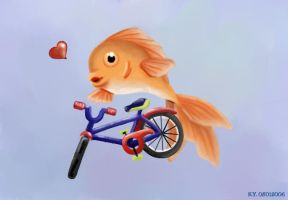 Bicycle Fish by Paramnesia