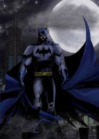Batman - Ever Vigilant by StingRoll