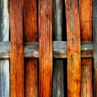 Wooden Wattle Wall by nectar666