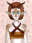 Faun by DawnKestrel