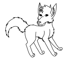 Canine Line Art - Free by toto999jr2