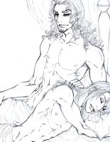 Dante and Andrea Sketch by Meiseki