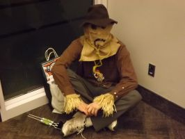 The Scarecrow, In a Corner by Neville6000