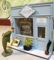 mini Art Gallery - Front shop by sily22