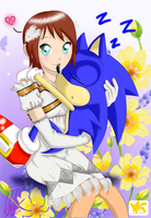 Sonic y Elise! by Chipo811