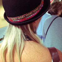 Hat and Earring by pyramidhead82