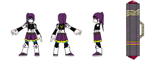 Elsword - Chung Costume Design 2 by GameBoy224