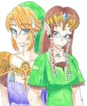 Link and Zelda Switch Clothes by LilacPhoenix