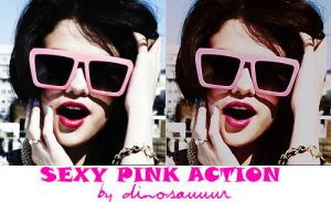 Sexy pink action by Dinosauuur