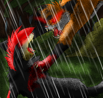 FIGHT!!!! by TailsicaTFox