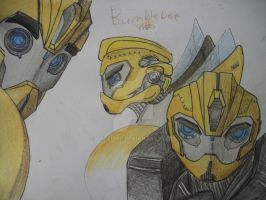 Transformers Prime Bumblebee by TFGlider