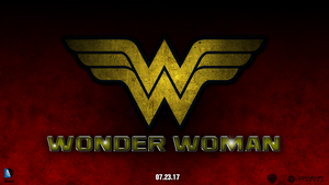 Wonder Woman fanmade poster by chronoxiong