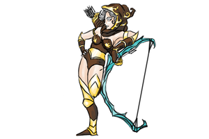 Frost Archer Ashe by Gallantnightmare