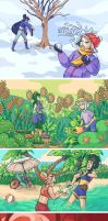 MARK: Four Seasons by kimikiwi48