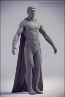 Man of Steel Sculpt update by PatrickvanR