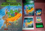 Alien Greed II Atari 2600 Label And Box Art. by Atariboy2600